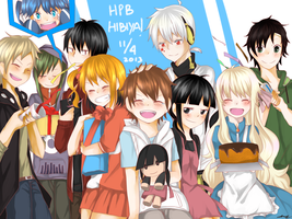Happy Birthday Hibiya! by Jetterbee