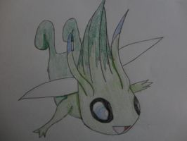 Celebi by ShadowDragon5150