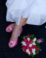 Bride's Shoes by Mechis