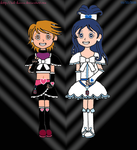 Cure Black and Cure White by Sab-Hanna