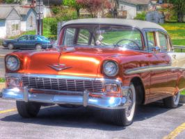 1956 Chevrolet Bel Air by jim88bro