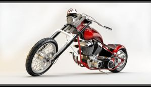 Custom Chopper 3 by PasMater
