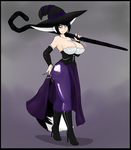 Dominatress Shadow by AngelTheCatgirl