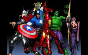 UMVC3 Avengers by thereanimatedunknown