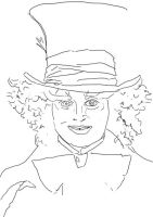 The Mad Hatter lines by Hasuf3ll