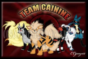 Team Cainine by CCgonzo12