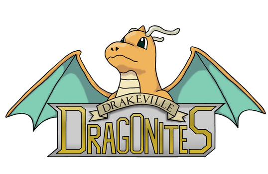 Drakeville Dragonites Logo by Chain-Of-Ashes