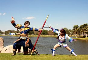 Kilik and Xianhua III by alsquall