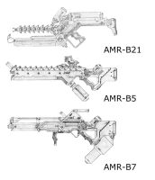 district 9 weapons by J-J8