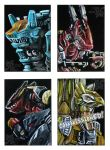 Zoids Card Set 2 by SakuraBomb