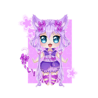 Adoptable - Chibi Neko [CLOSED] by Omugai