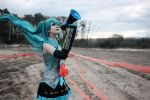 Love is war - Hatsune Miku by kirawinter