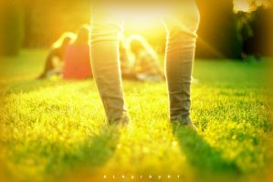 Sunshine between your Thighs by alahay