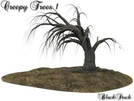 Creepy Trees 1 by BlackStock