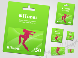 iTunes Giftcard by AreoX