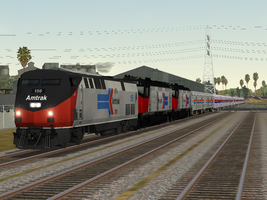 Amtrak Complete Throwback by BNSF