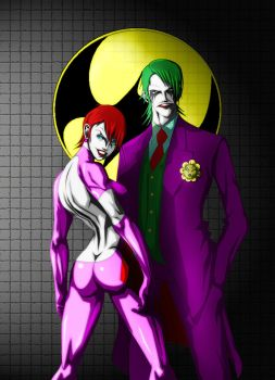 THE JOKER AND DUELA DENT by B9TRIBECA