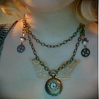 Clockwork Angel Necklace by PhantomDawn