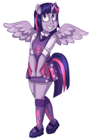 Twilight Sparkle by catlikeacat