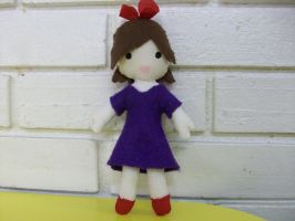 Kiki's Delivery Service plush by spastic-fantastic
