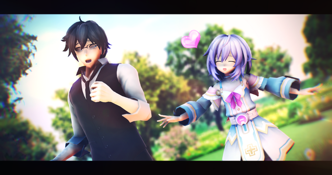 |MMD|HDN|OC|Requested|Please come back, Dell! by UniTheNep