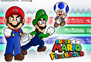 Super Mario FlashBack - PROMOTIONAL POSTER by FaisalAden