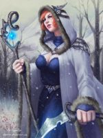 Forest Mage by AyyaSAP