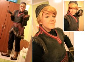 More Kristoff Cosplay Progress by Daishota