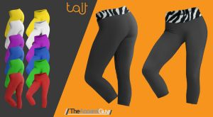 Leggings Template by TheApparelGuy