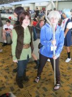 Otakon '13: Hiccup and Jack Frost (Me!) by KatrinaLyoko