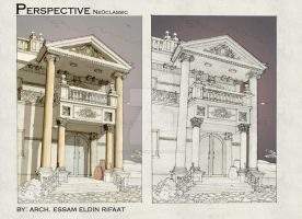neoclassic sketch by essamdesigns