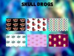 Skull Patterns by SHoran1D