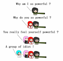 Why do you so powerful ? by redcomic