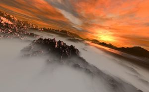 Above the Mist by Selufein
