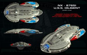 Diligent Class ortho - USS Diligent by unusualsuspex