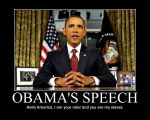 Obama's Speech by Balddog4
