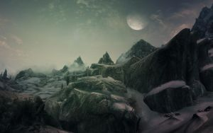 Skyrim scenery 23 by spaceskeleton