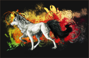 .:colours of life:. by WhiteSpiritWolf