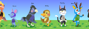 Animal Crossing - Villagers by Kanis-Major
