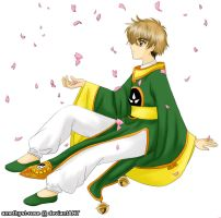 cherry blossom - Syaoran only by amethyst-rose