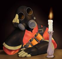 Pyro's Night In by Tbopi