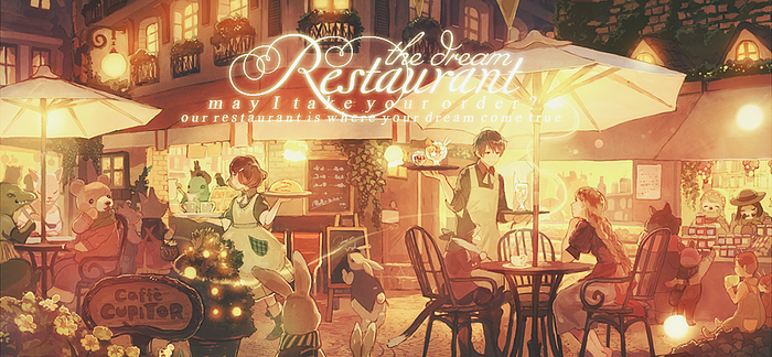 The Dream Restaurant by Fris-chan