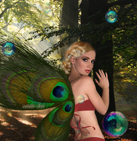 Forest Fairy by winterlove20