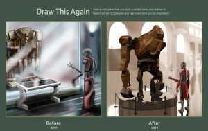 Robot Museum - Draw This Again Contest by AndrewCM
