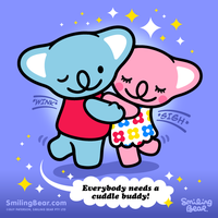 Everybody Needs A Koala Cuddle Buddy! by RealSmilingBear