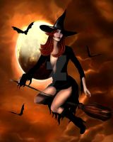 Halloween Witch 2005 by KerriAnnCrau