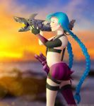 Jinx at Sunset by RebeccaAlexa
