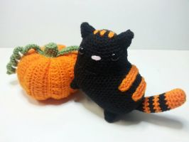 October the Cat by Heartstringcrochet