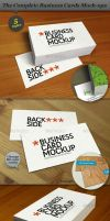 Business Cards Mock-ups - PACK by ranfirefly