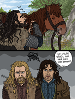 Hobbit:  Braiding and Bonding by sparkyHERO